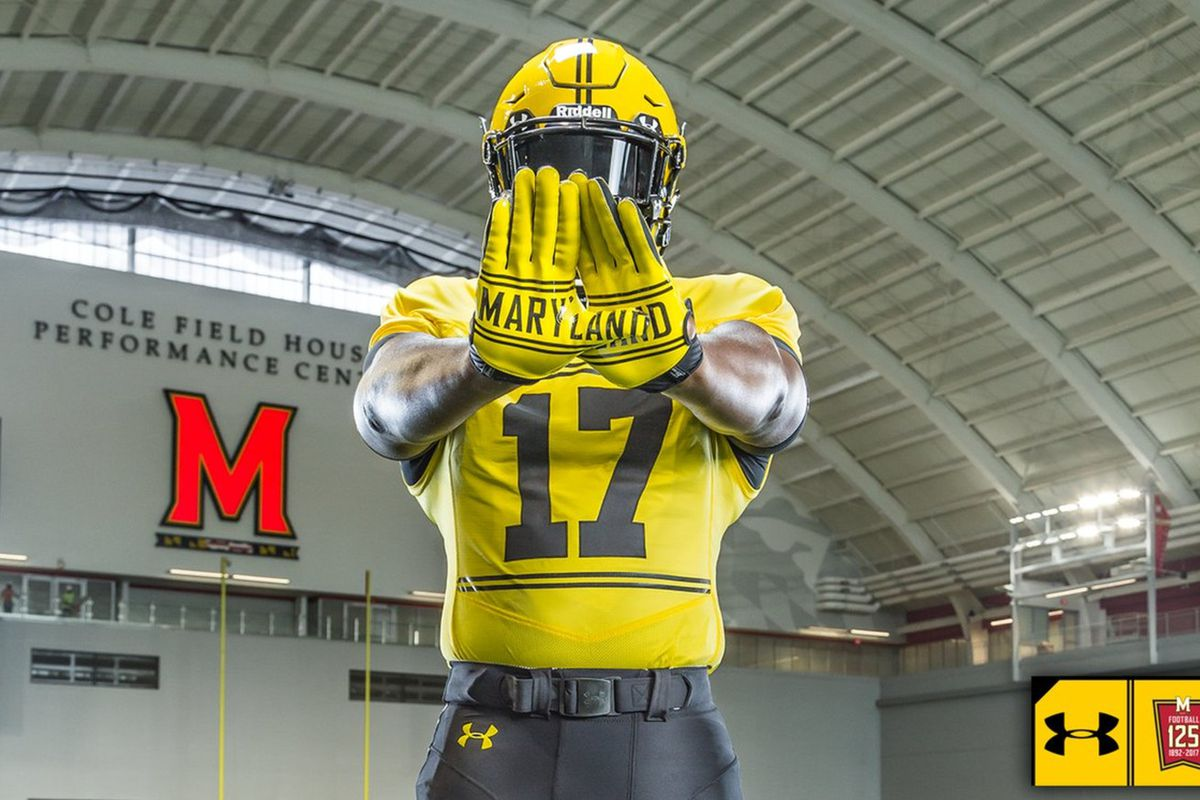aeeb5c23777 Maryland will wear special homecoming uniforms for their game ...