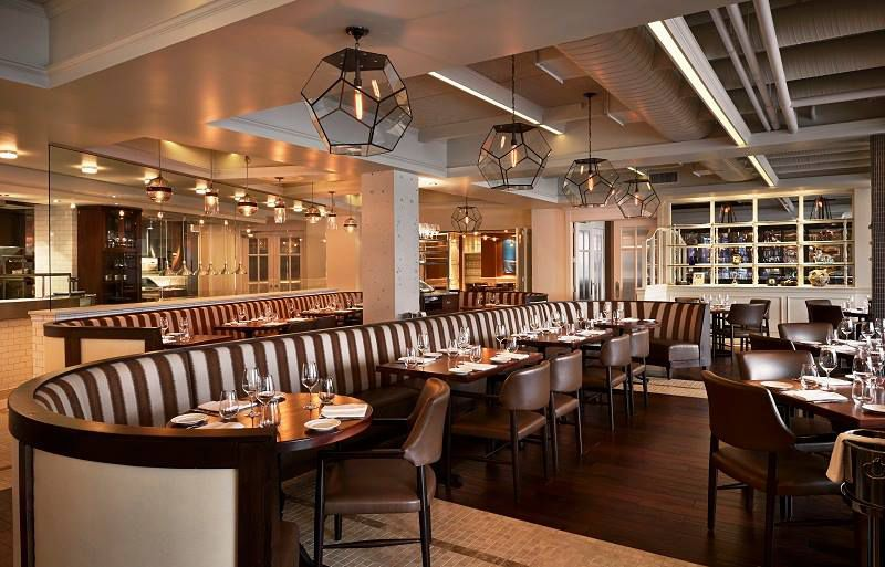 Fabio Trabocchi S Prime Georgetown Waterfront Location And Sweeping River Views Help Accent The Sophisticated Food Fiola Mare Is Seafood Centric Sister