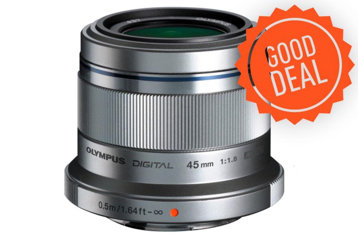 Olympus M.Zuiko 45mm lens Good Deal
