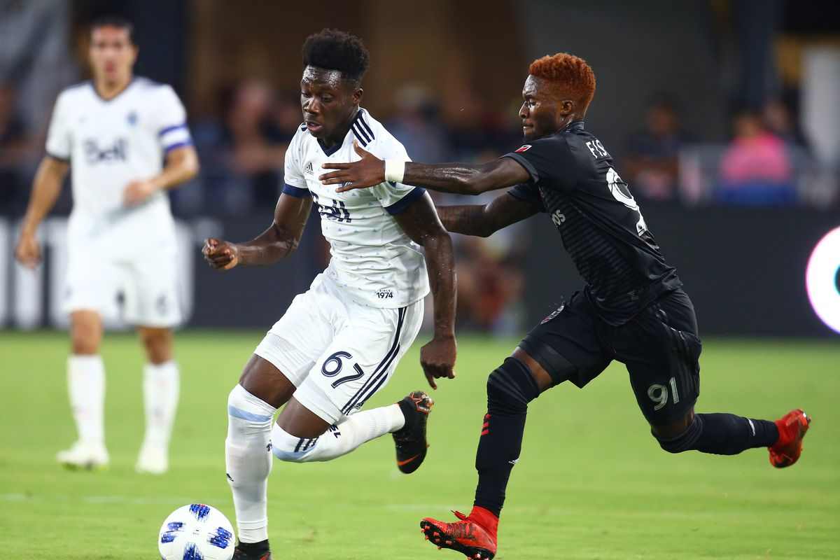 b7b62cd4087 Major Link Soccer  Alphonso Davies likely heading to Bayern Munich for  record fee