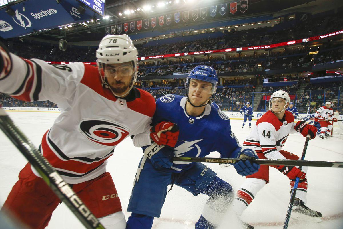 NHL: Preseason-Carolina Hurricanes at Tampa Bay Lightning