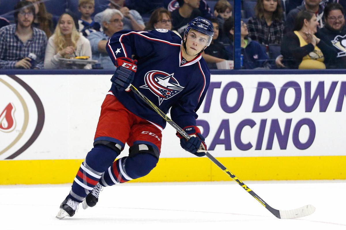 This is Kerby Rychel. You may see him in a Blue Jackets sweater fairly soon.