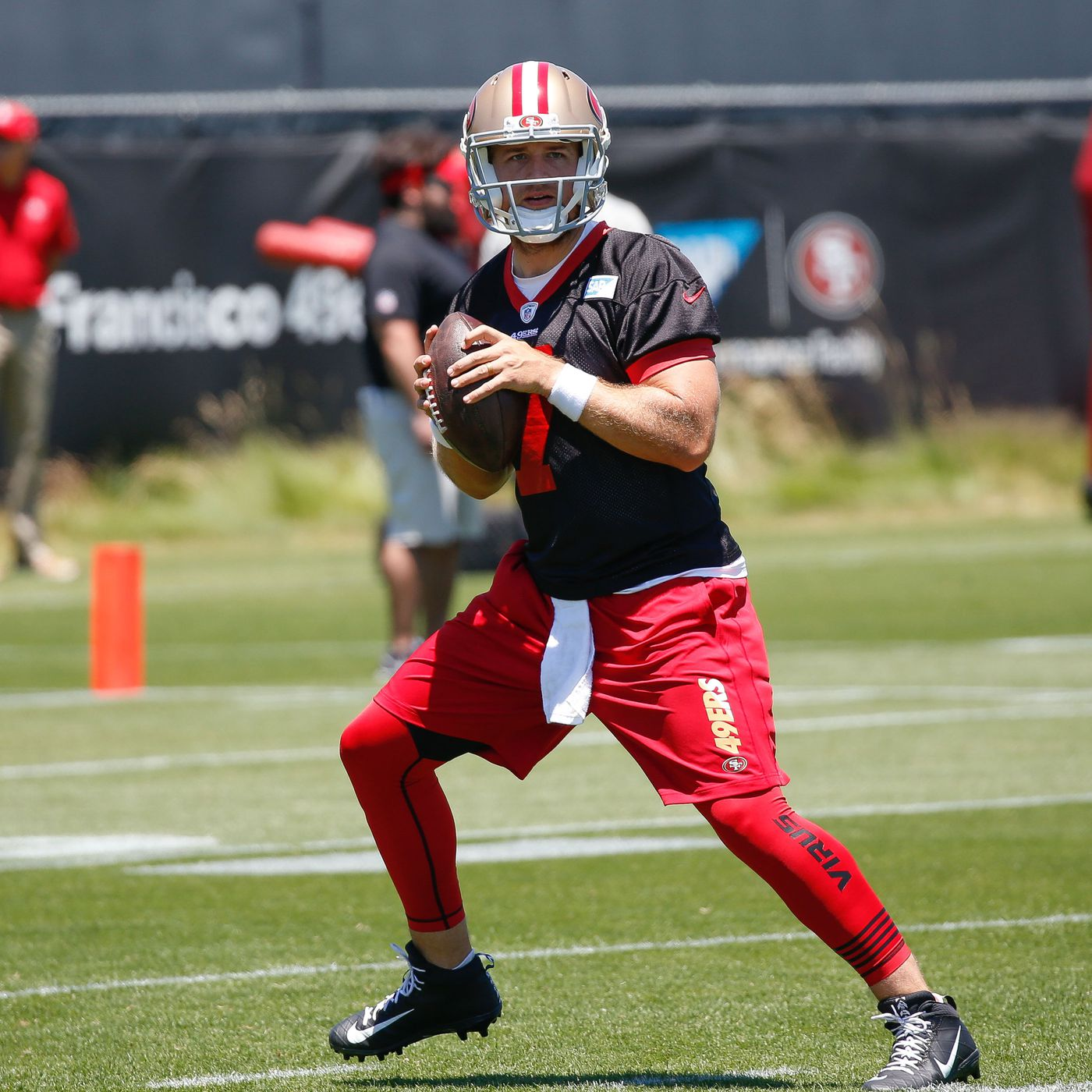 finest selection 91bf0 41a91 49ers roster breakdowns, 90-in-90: Nick Mullens - Niners Nation