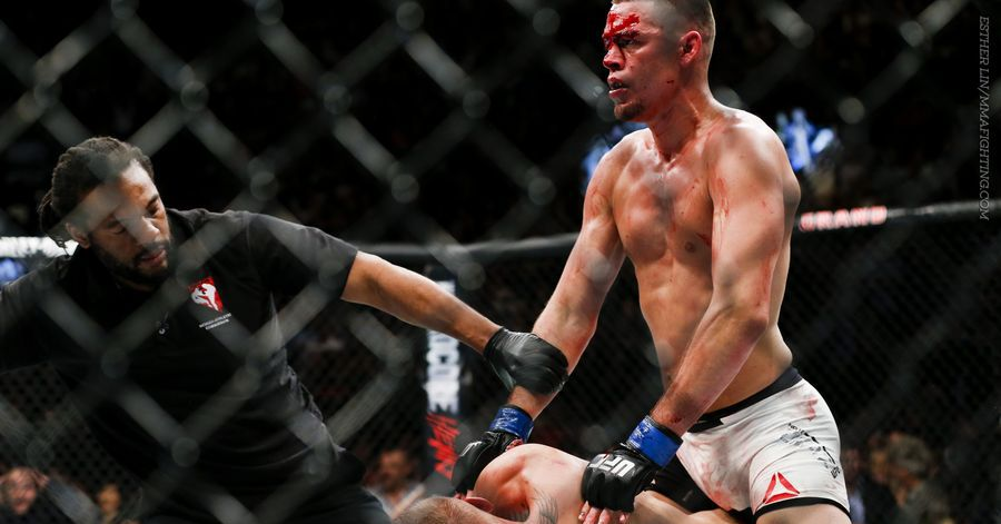 Nate Diaz to UFC: Make 'lil b*tch' Conor McGregor a belt for his confidence