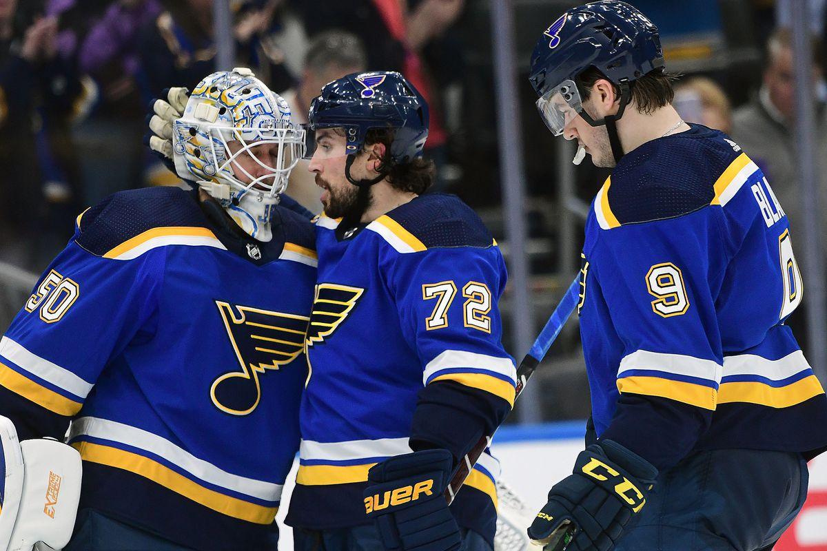 NHL: FEB 04 Hurricanes at Blues