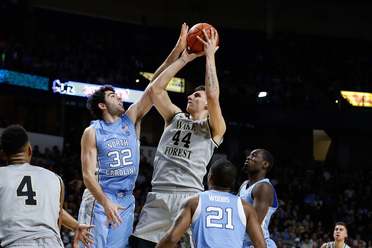 NCAA Basketball: North Carolina at Wake Forest