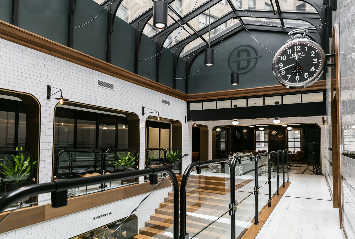 Inside Bedrock's stunning new offices in a long-vacant downtown