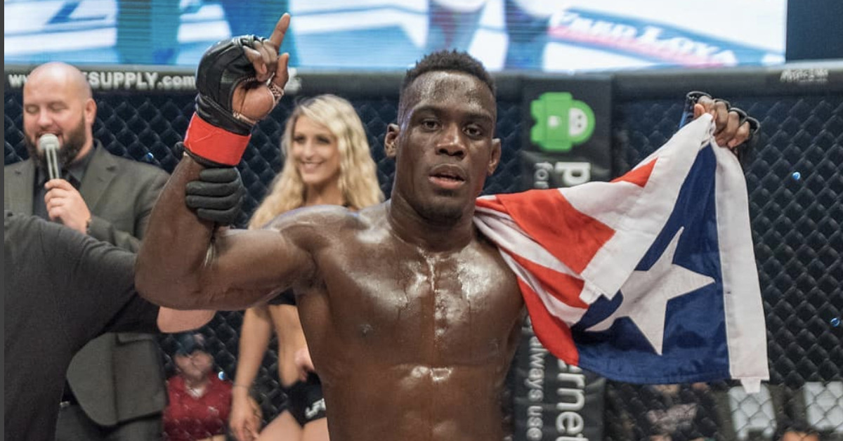 Nate Richardson fled a war-torn country, and now, he seeks the American dream in the UFC
