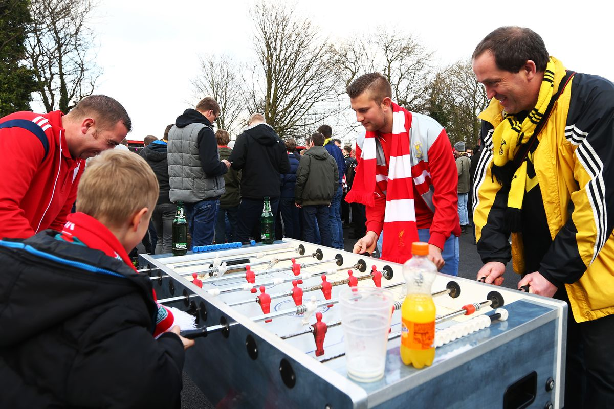 """You may ask yourself """"Eliz, do you ever get sick of using the foosball images?"""" and the answer is no, no I don't."""
