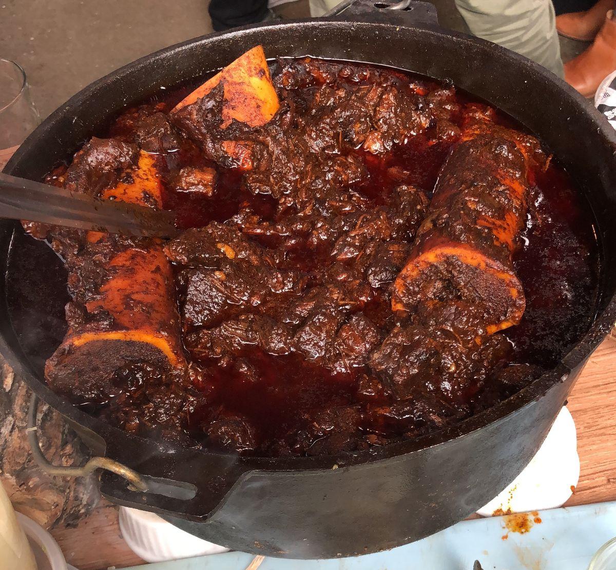 Texas chili at WesBurger
