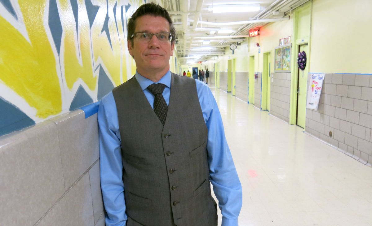 Principal James Waslawski designed New Directions Secondary School for middle school students who are over-age and off-track.