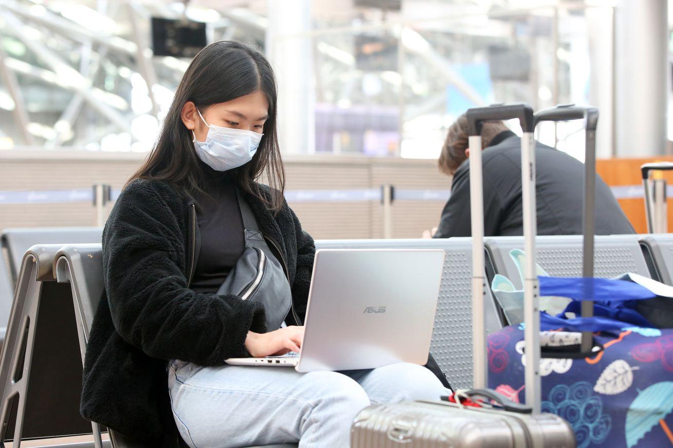 Coronavirus - Hamburg Airport
