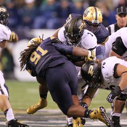 ND bottles up the Purdue rushing attack