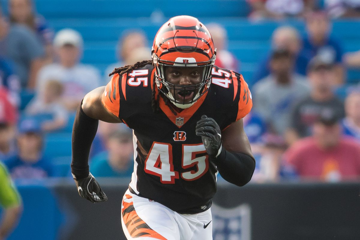 info for 86089 a12c6 Bengals place Malik Jefferson on IR, sign Chris Worley ...