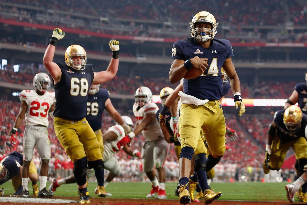 BattleFrog Fiesta Bowl - Ohio State v Notre Dame