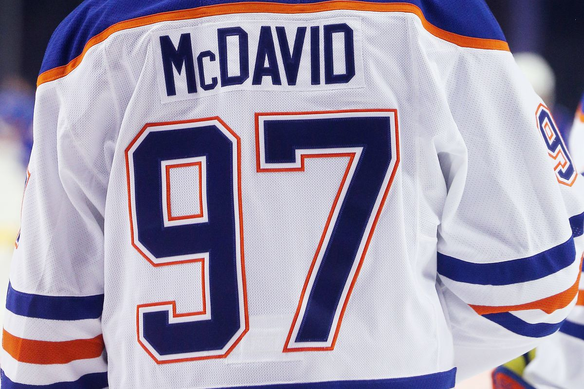uk availability 96a17 43380 Growing up, Connor McDavid had a Leafs jersey with his name ...