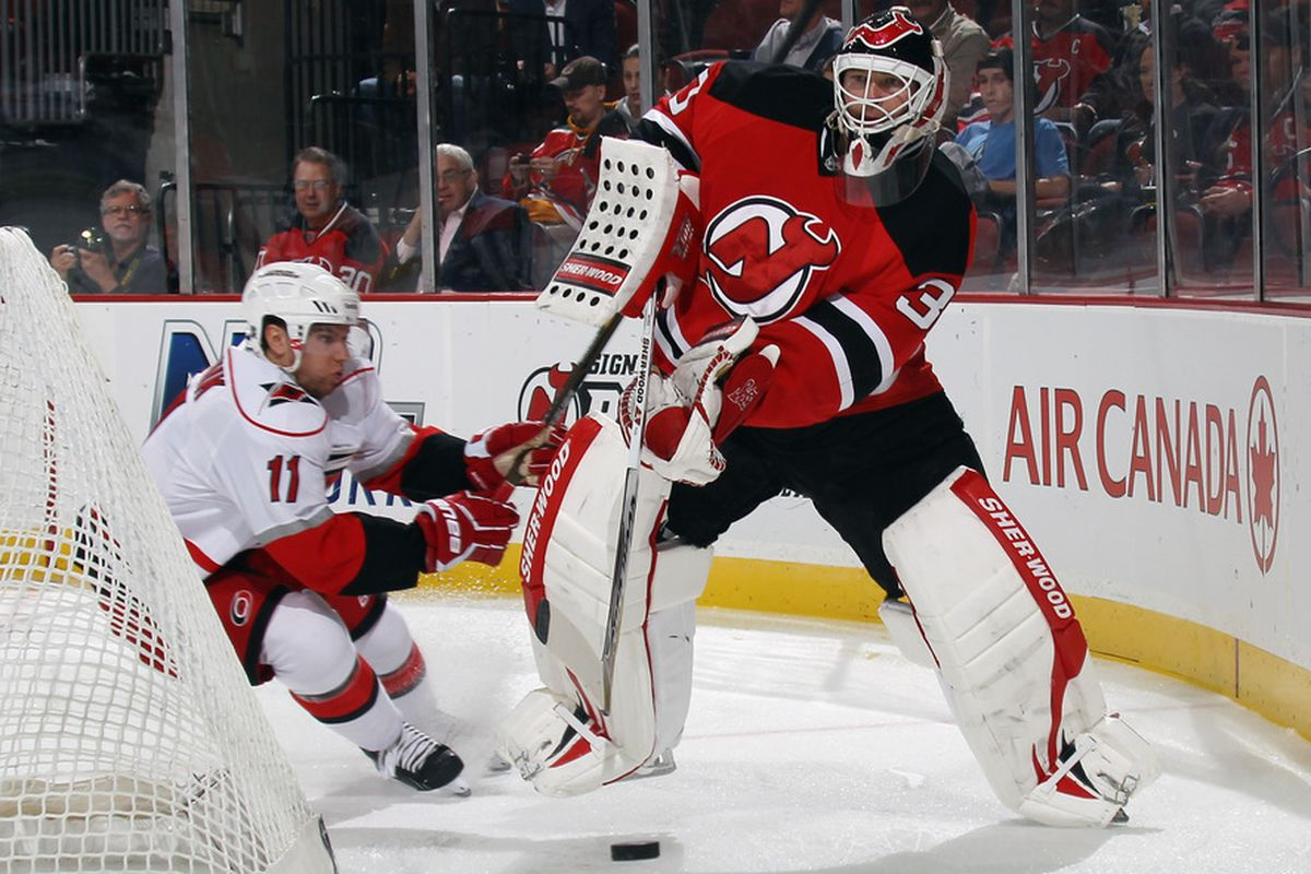 Brodeur S Three Career Goals And How They Stack Up Against Other