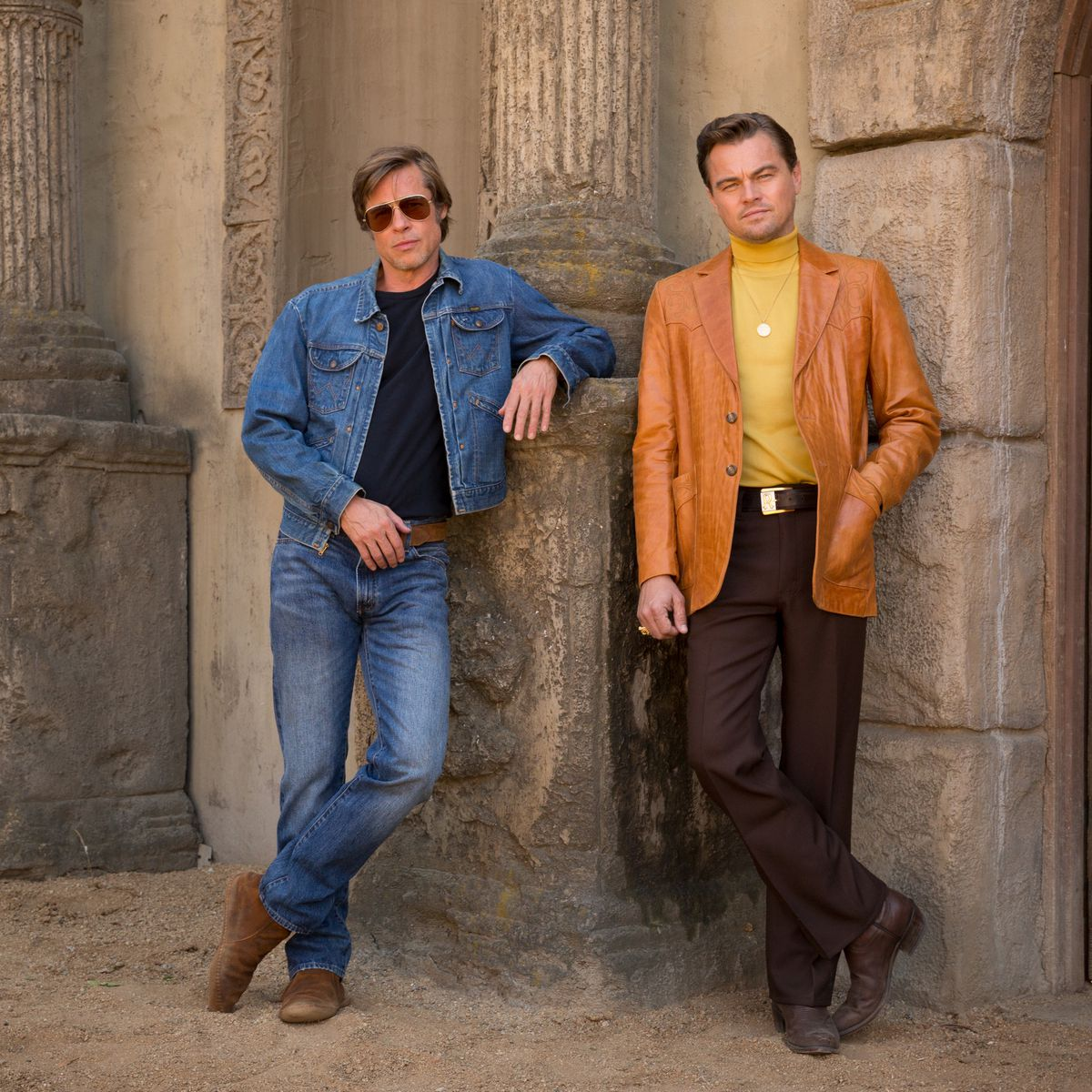 Once Upon a Time in Hollywood - Cliff and Rick