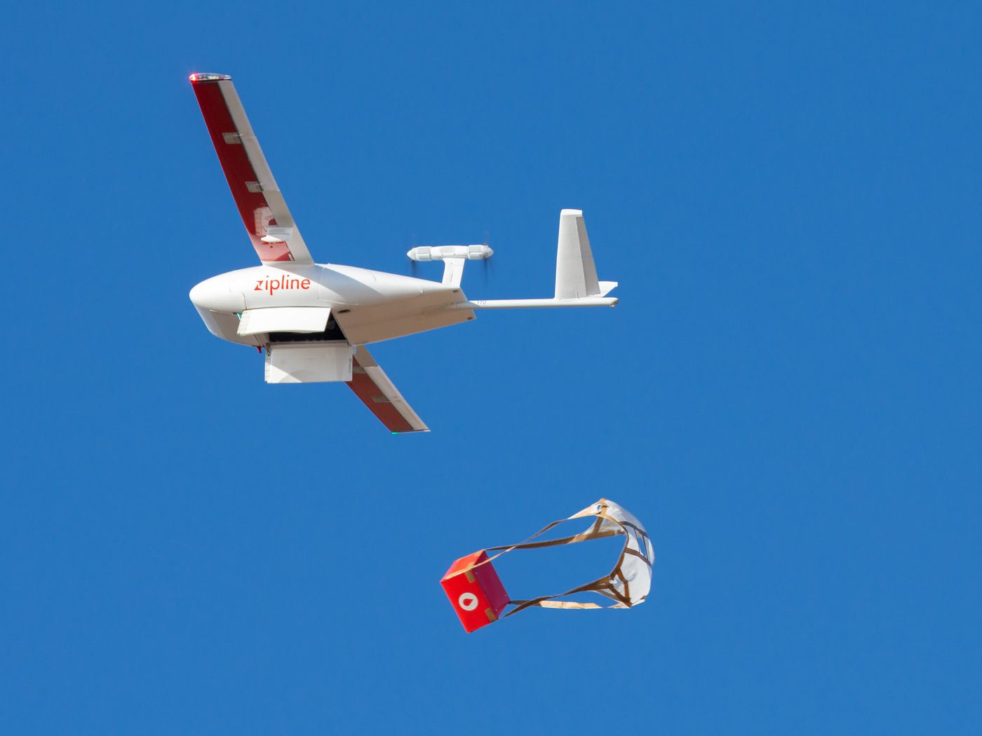 Zipline's drones are delivering medical supplies and PPE in North ...