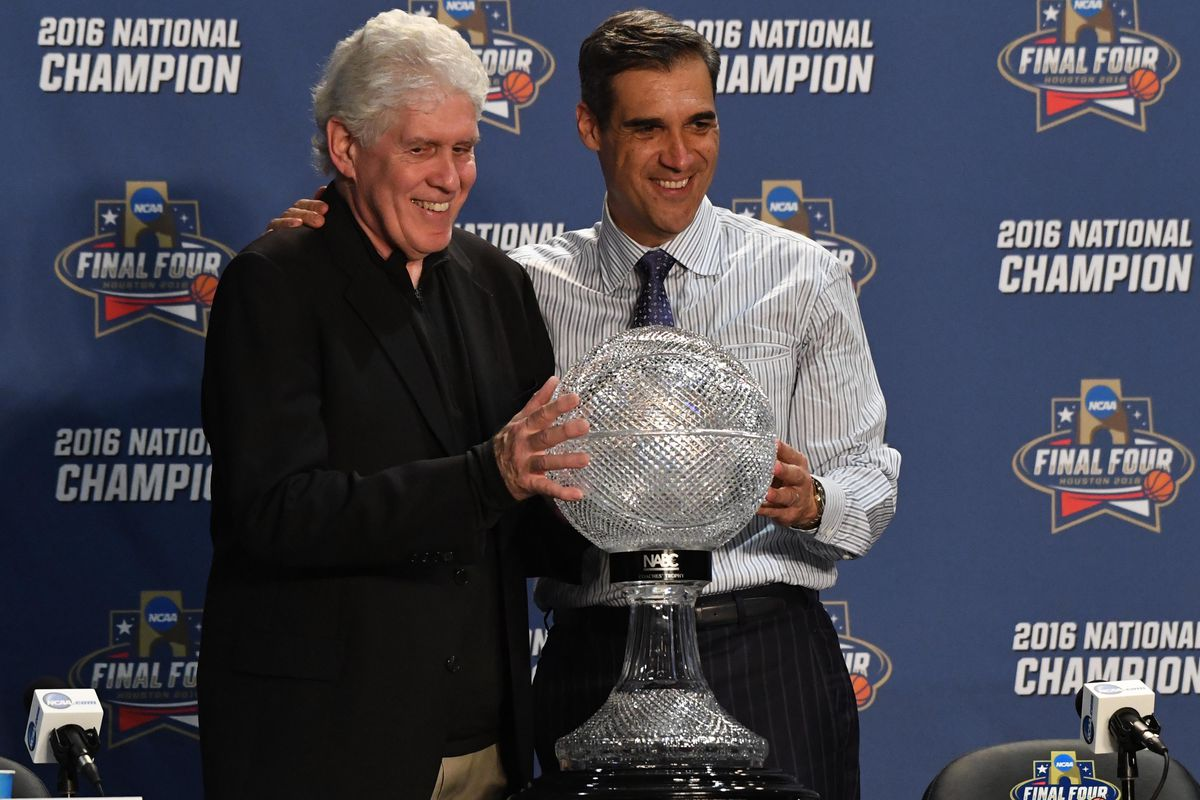 What are the odds Jay Wright returns to the winner's dais next season?