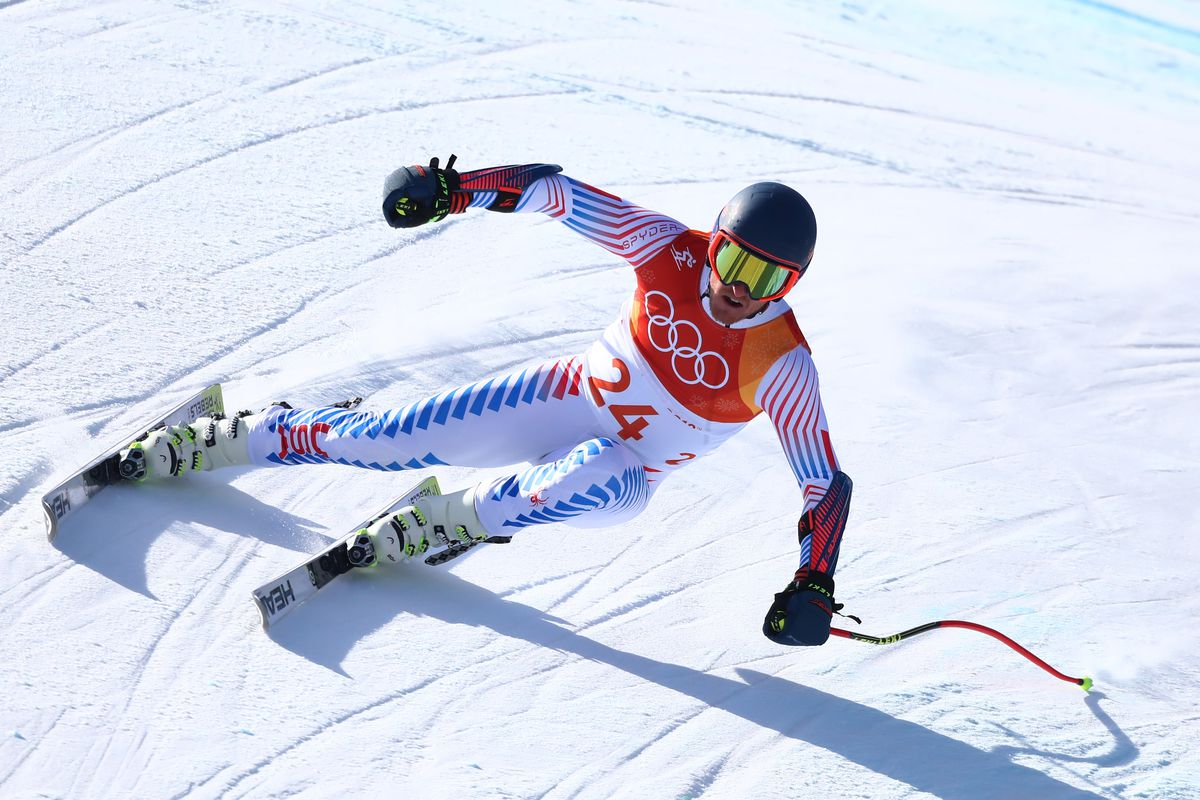 Hirscher doubles up with giant slalom gold at Winter Olympics