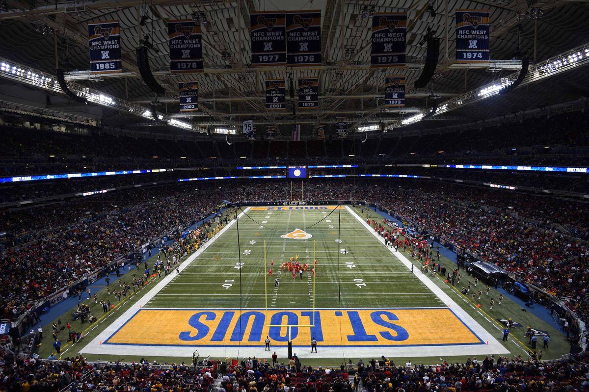 NFL: Edward Jones Dome Views