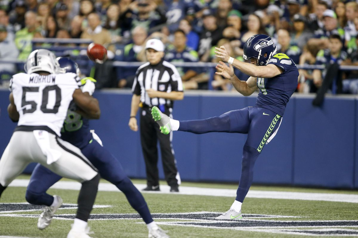 f5708d3d7 Packers-Seahawks will be first head-to-head matchup for JK Scott   Michael  Dickson
