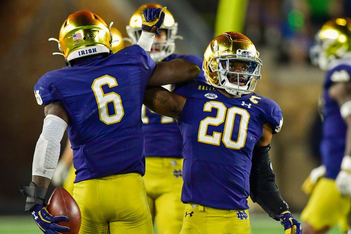 Notre Dame Football Another Alteration To The Irish Uniform Is Here One Foot Down