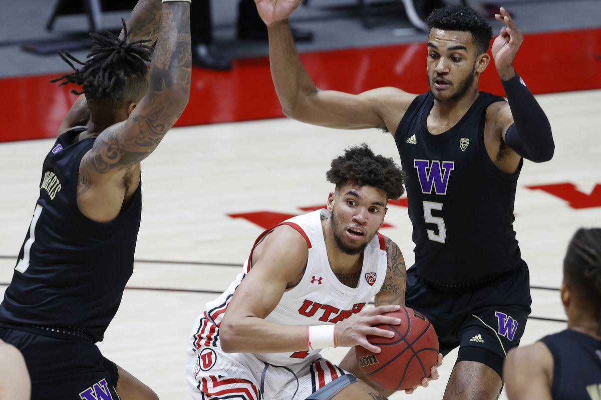 NCAA Basketball: Washington at Utah