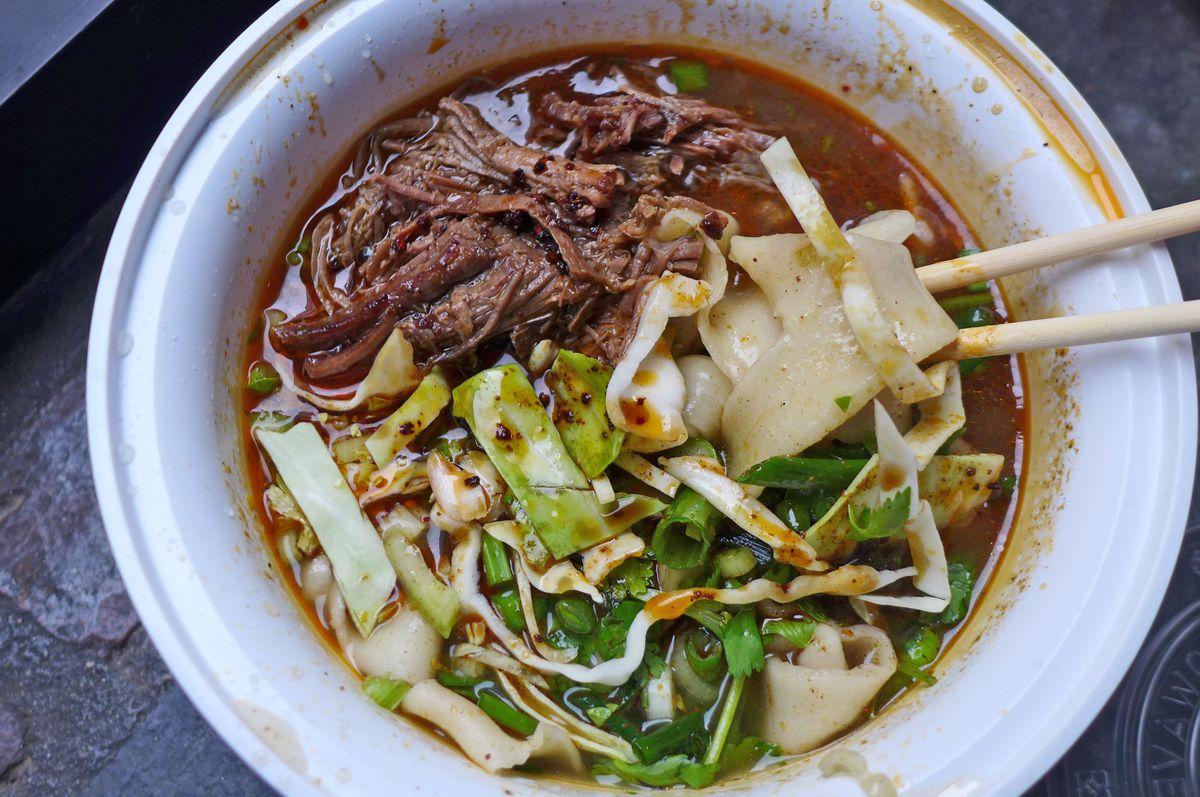 "<span data-author=""-1"">Tingly cumin lamb soup at Very Fresh Noodles</span>"
