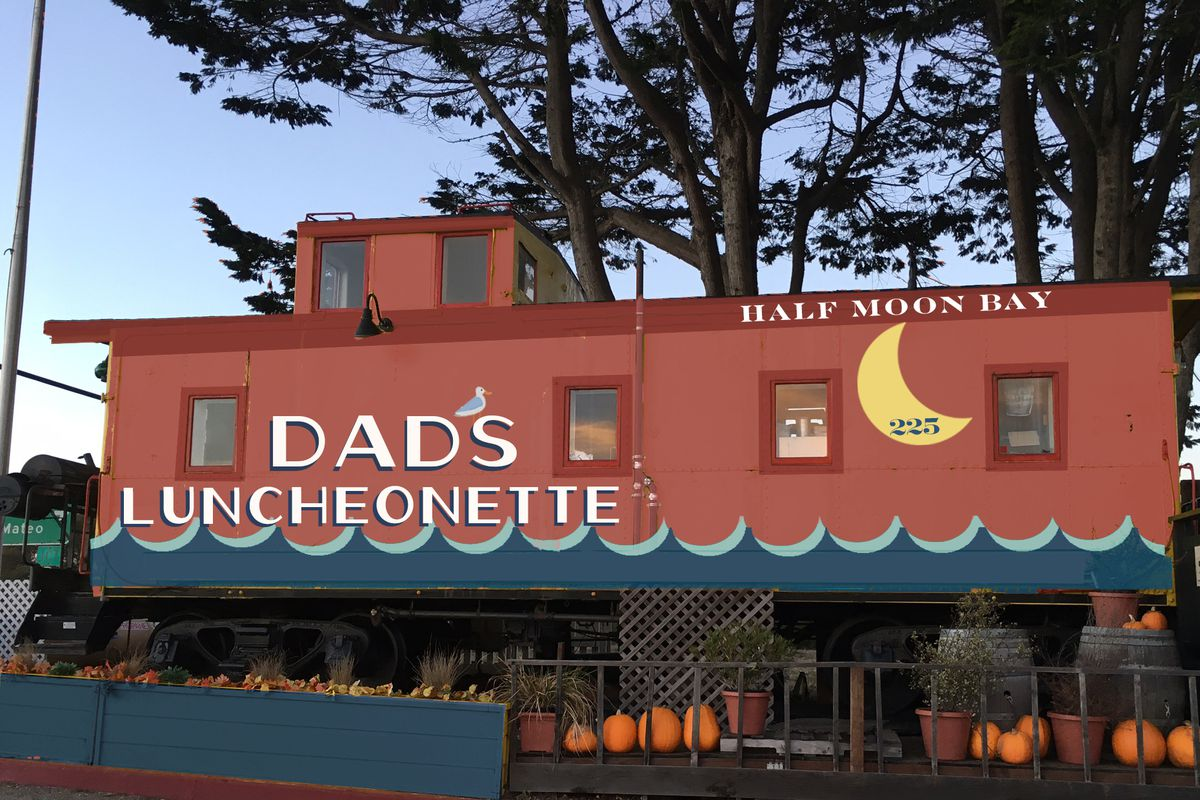 A Rendering Of Dad S Luncheonette Alexis Liu