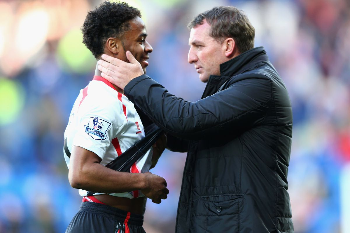 """""""Steady Raheem. I don't feel we've reached that stage in our relationship yet..."""""""