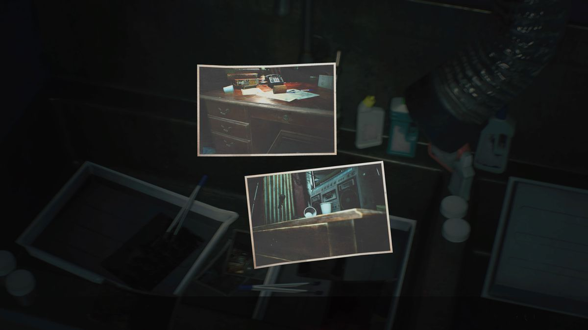 Resident Evil 2 remake Hiding Places film guide