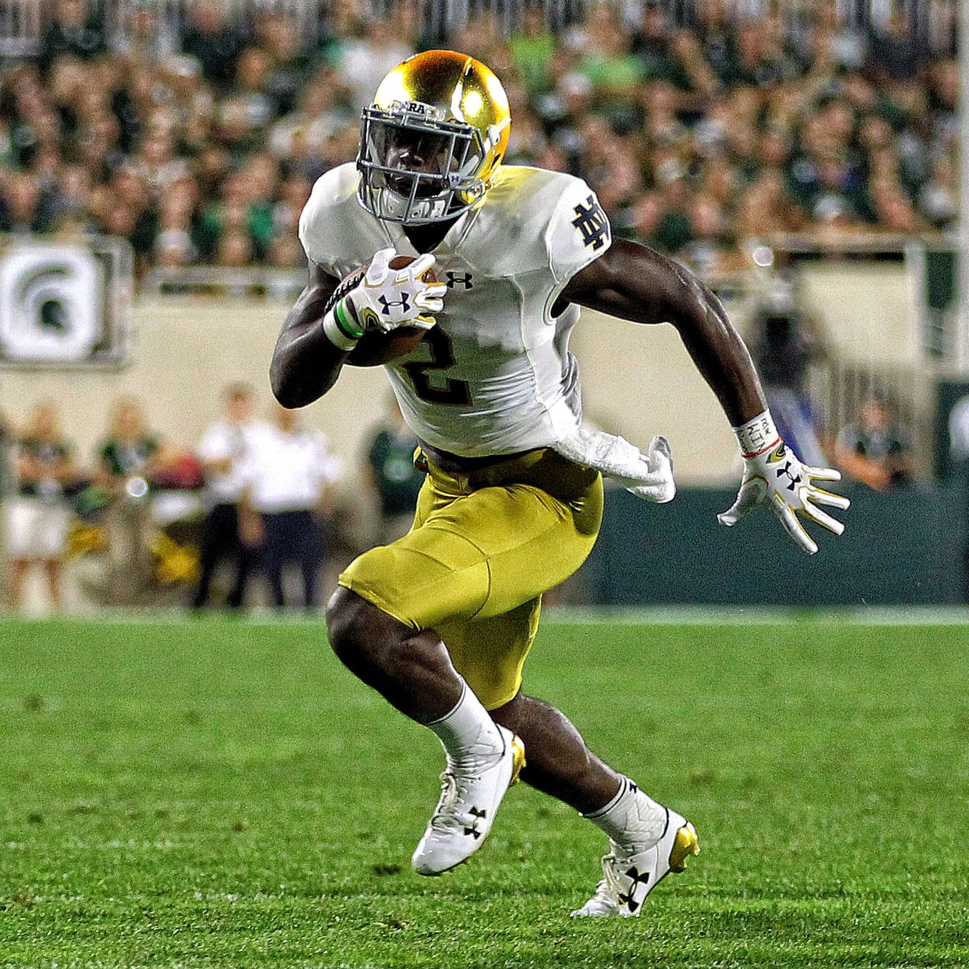 What Will Notre Dame Do At Running Back Moving Forward One Foot Down