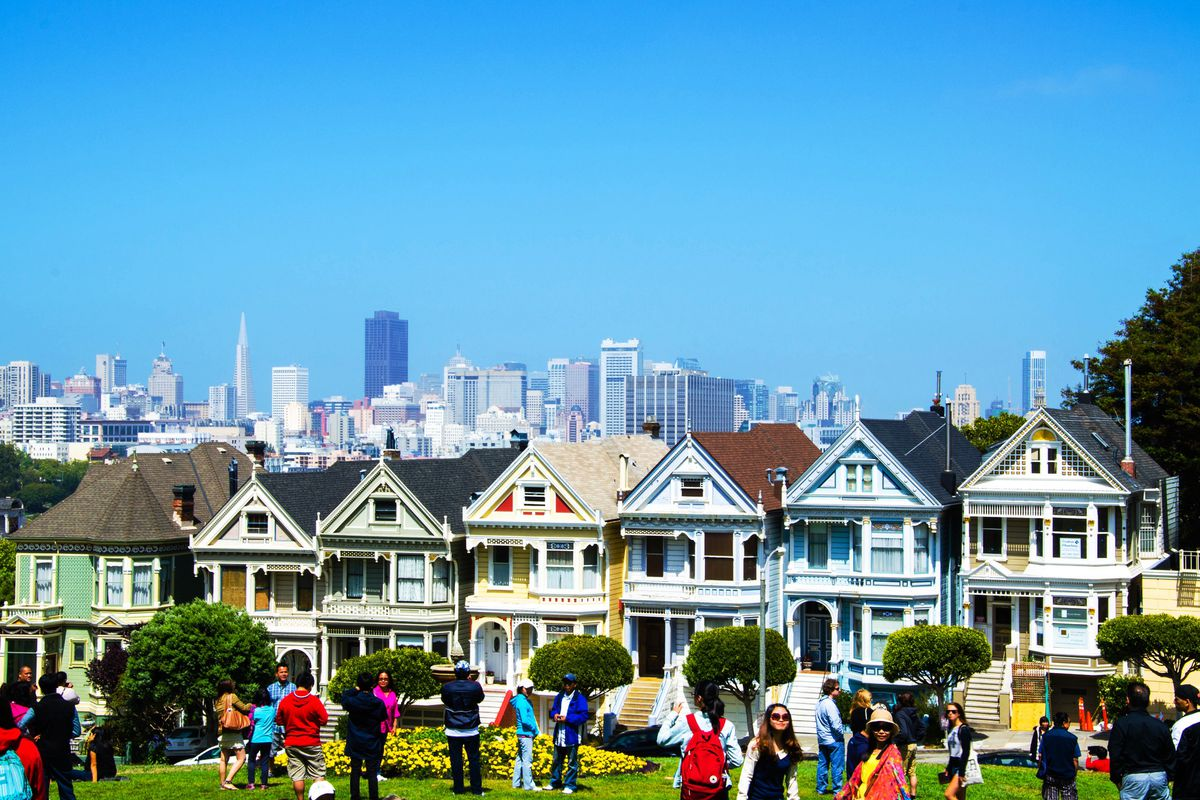Alamo Square Park Gets Reopen Date Curbed Sf