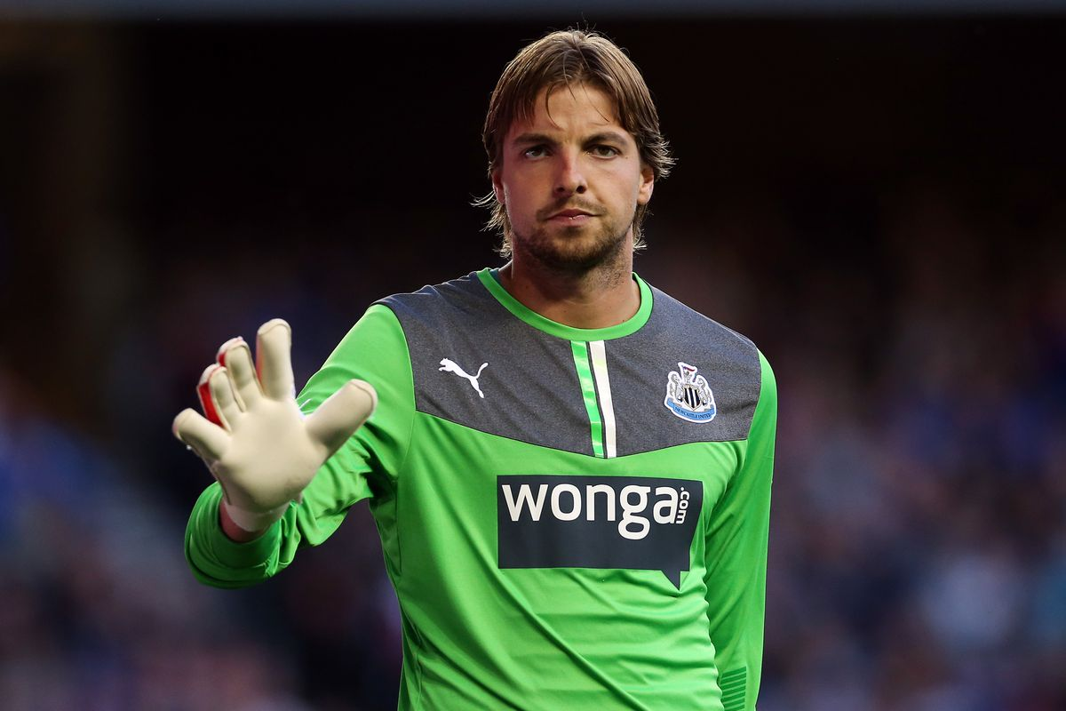 """""""five times """" said Tim Krul.  Nobody knew whether that was the amount of Chelsea goals or saves this week"""