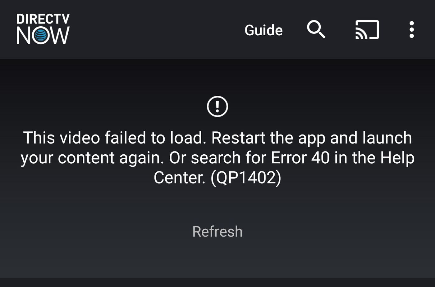 directv now buffering issues 2020