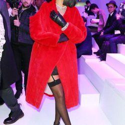 Hamming it hard at Dior