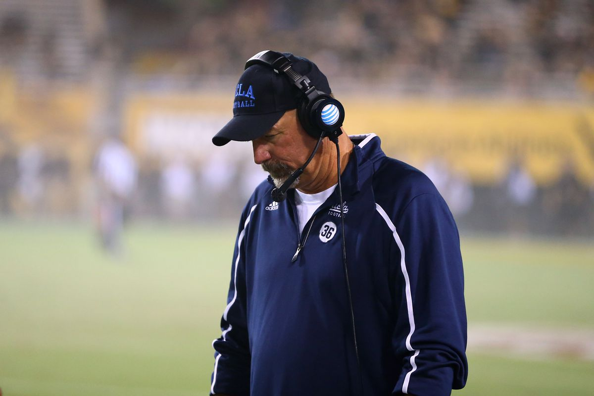 Noel Mazzone needs to call an effective game in order for the Bruins to beat the Utes.