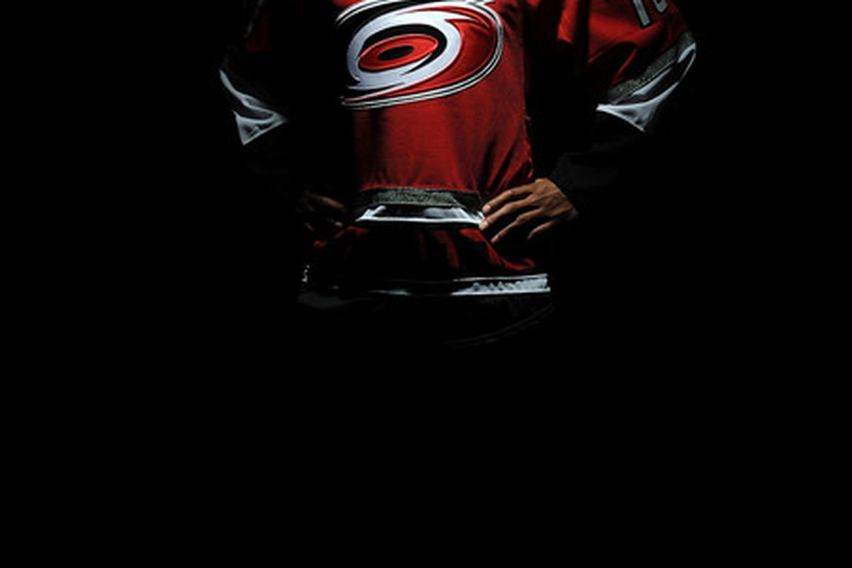 LOS ANGELES, CA - JUNE 26:  Austin Levi, drafted in the third round by the Carolina Hurricanes, poses for a portrait during the 2010 NHL Entry Draft at Staples Center on June 26, 2010 in Los Angeles, California.  (Photo by Harry How/Getty Images)