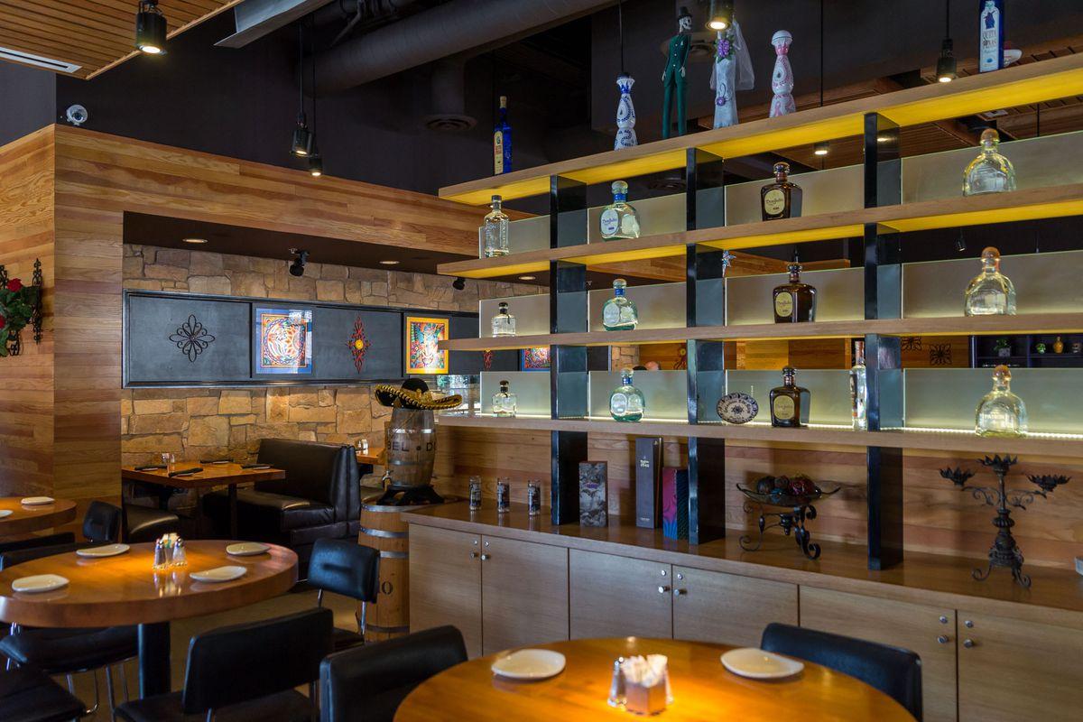 The bar at Leticia's Mexican Cocina