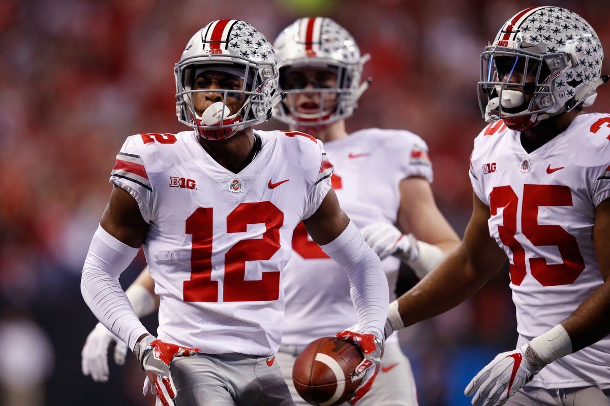 4 pick Denzel Ward handled sitting out of his final college game in a very  professional manner 658d3e3e9