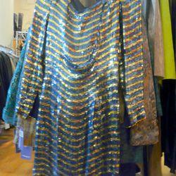 Vintage sequined mini dress, $65