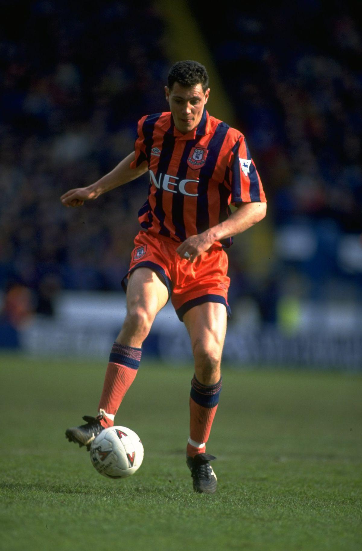 Brett Angell of Everton