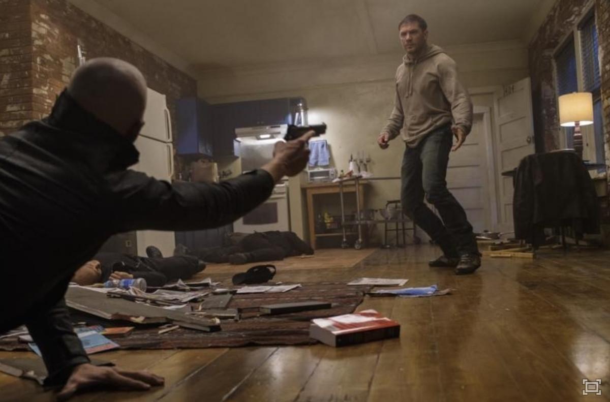 "Tom Hardy plays washed-up TV journalist Eddie Brock in ""Venom.' | Columbia Pictures"