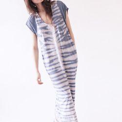 Fossil blue caftan dress, reg $248.