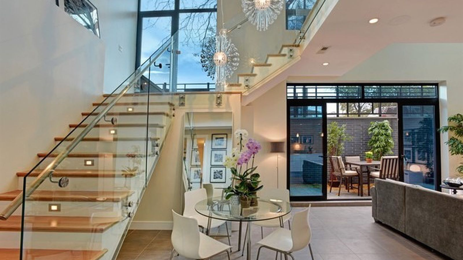 Sleek contemporary duplex condo in lincoln park asks 850k for Nyc duplex for sale