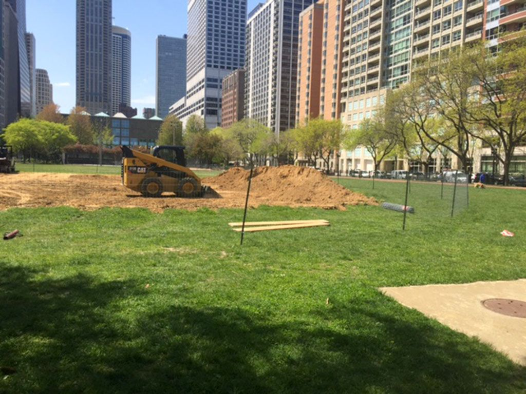 Changes are underway at Lake Shore Park.