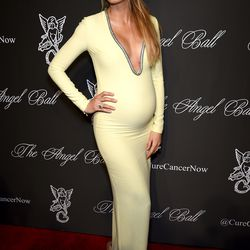 In a Gucci gown at Angel Ball 2014 on October 20th, 2014.
