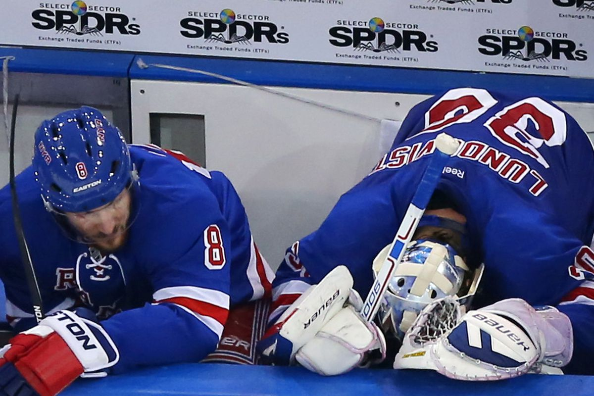 Funny how all these Rangers playoff efforts of recent years tend to end the same way.